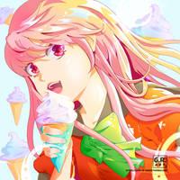 ICE CREAM by artsofgenee
