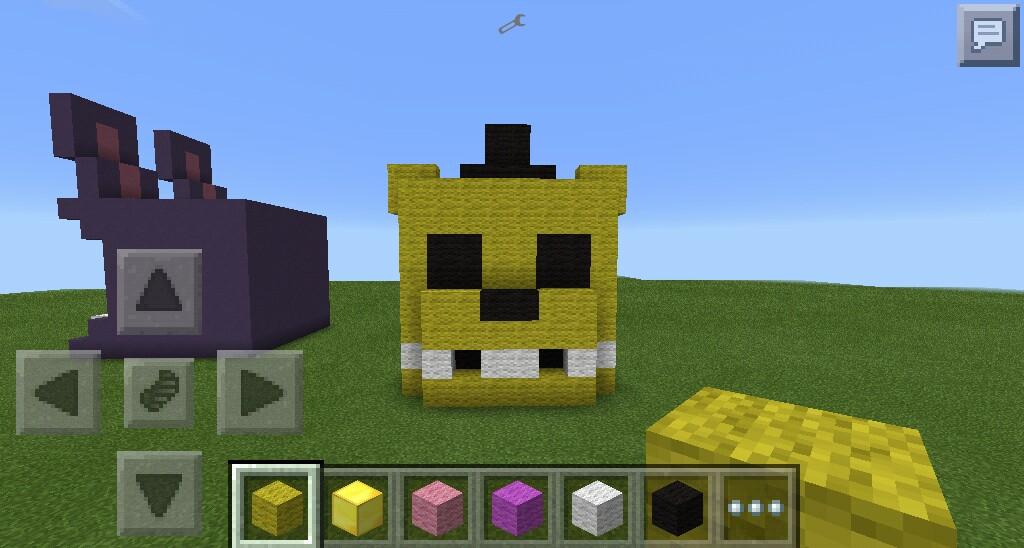 Minecraft PE: Golden Freddy by pepelepewhtf on DeviantArt