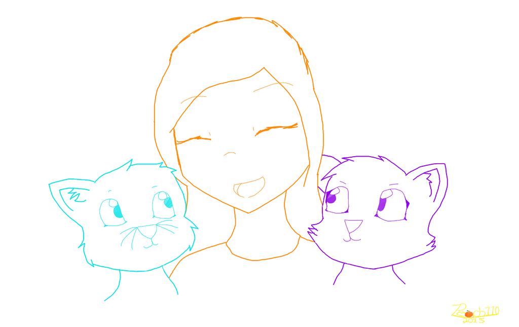 PC: My Cat Buddies by Peach110