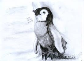 Baby Penguin by matsmoebius