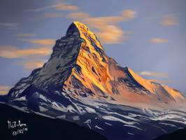 Matterhorn by matsmoebius