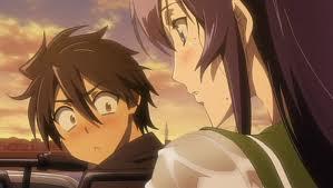 Oh snap... Um Saeko? by Chisame-Rishu