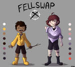 FellswapX Frisk and Chara