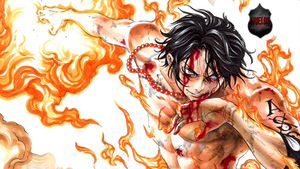 RENDER PNG - Portgas D Ace - ONE PIECE