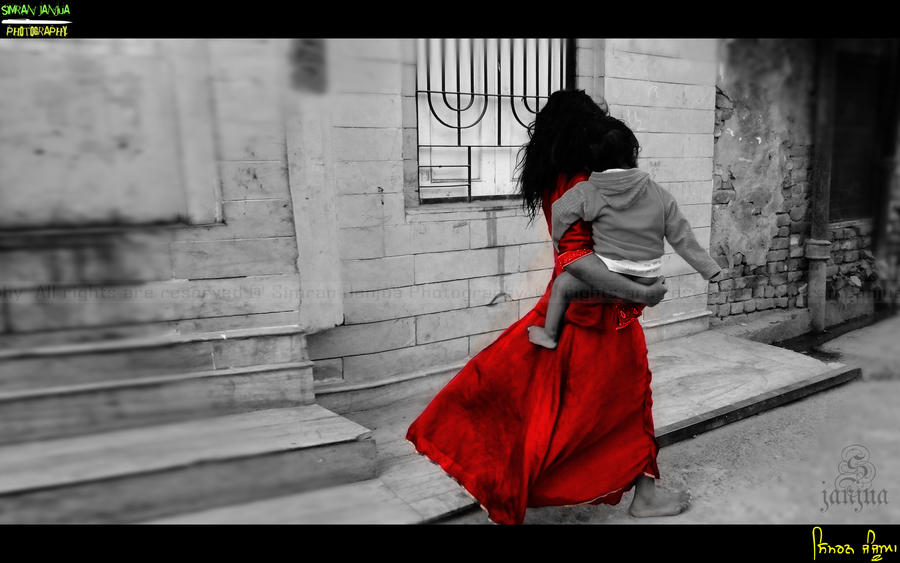 Childhood Burden by Janjua