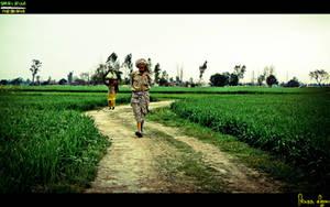 Life in a Village by Janjua