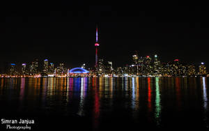 Toronto Skyline by Janjua