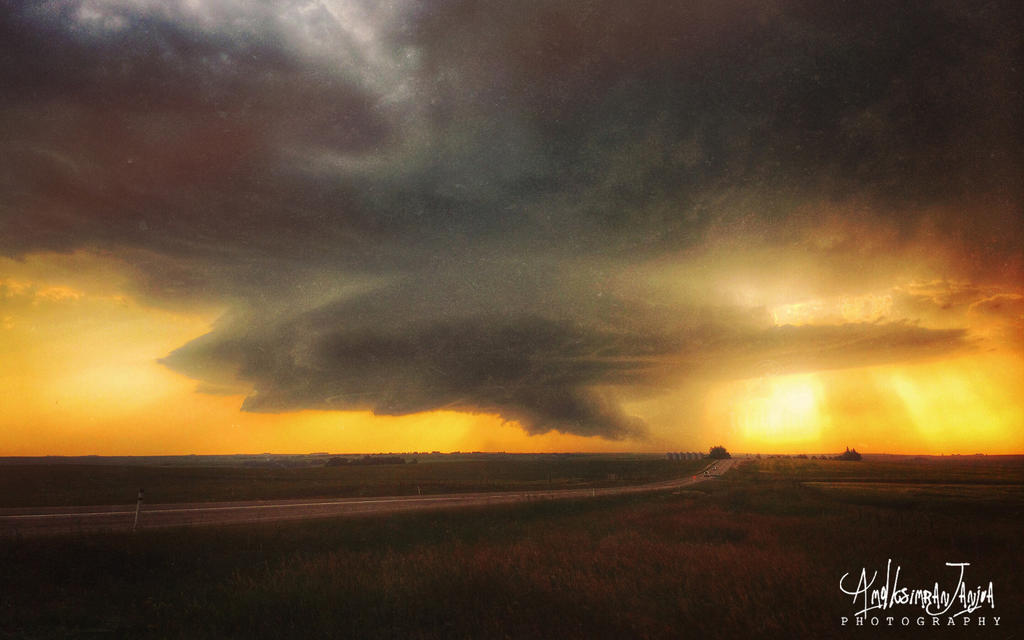Alberta under Storm by Janjua