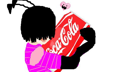 GO COKE AND INVADERCON by lovezimanddib22