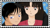 Miroku and Sango Stamp by blondishnet