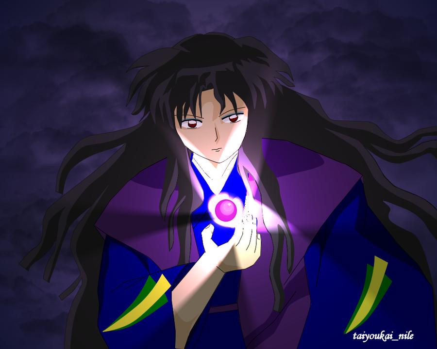 Naraku And The Shikon No Tama By Blondishnet