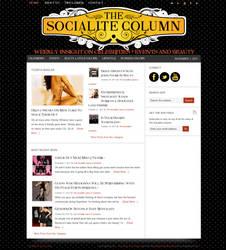 The Socialite Column WordPress Theme
