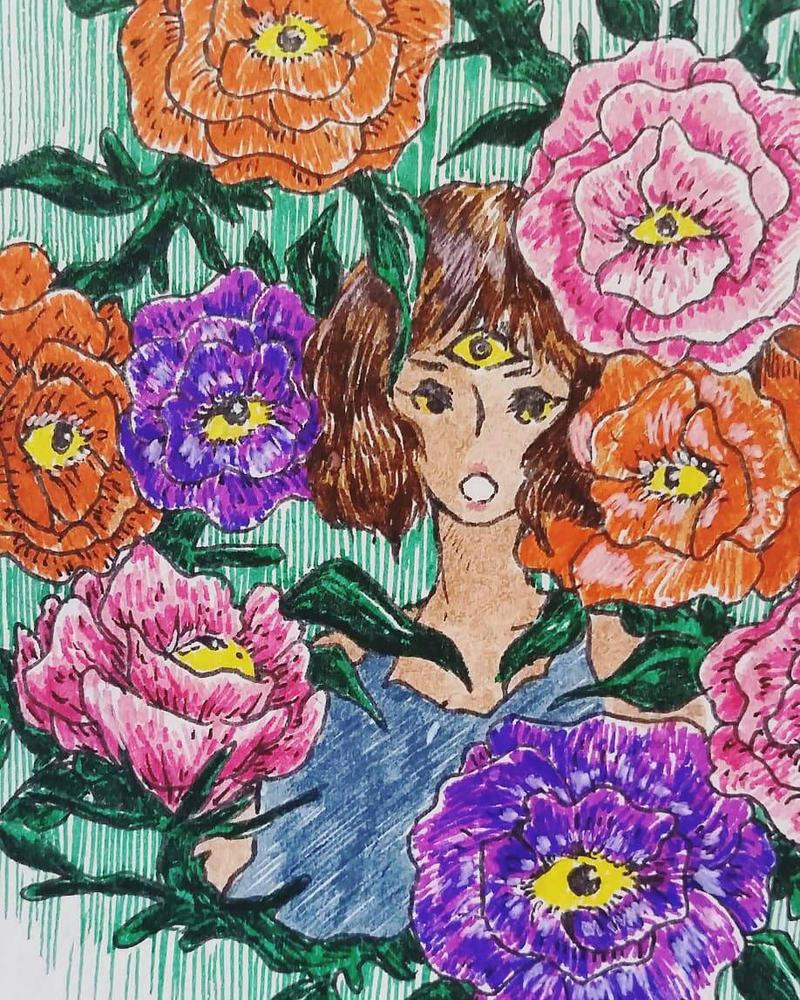 eyeflower by fishjen