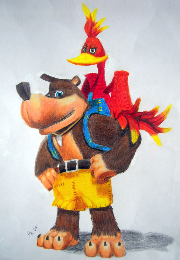 Banjo and Kazooie - Nuts+Bolts by RidgeTroopa on DeviantArt