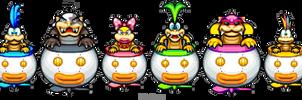 Clown Car Koopalings ML:BIS