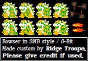 Bowser - Super Mario Bros. / 8-Bit