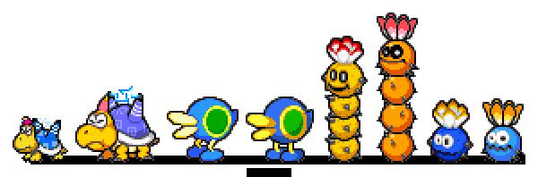 Super Mario Sunshine enemies [ML:SS Battle] Remake