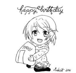 Happy Birthday Hanayo! by Maksst