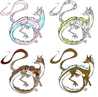 Spitfire Dragons (closed) by PsychoBerries