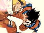 Naruto vs Gohan