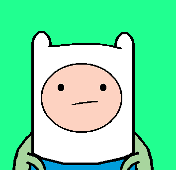 The Paint Chronicles - Finn from Adventure Time by Thiamor