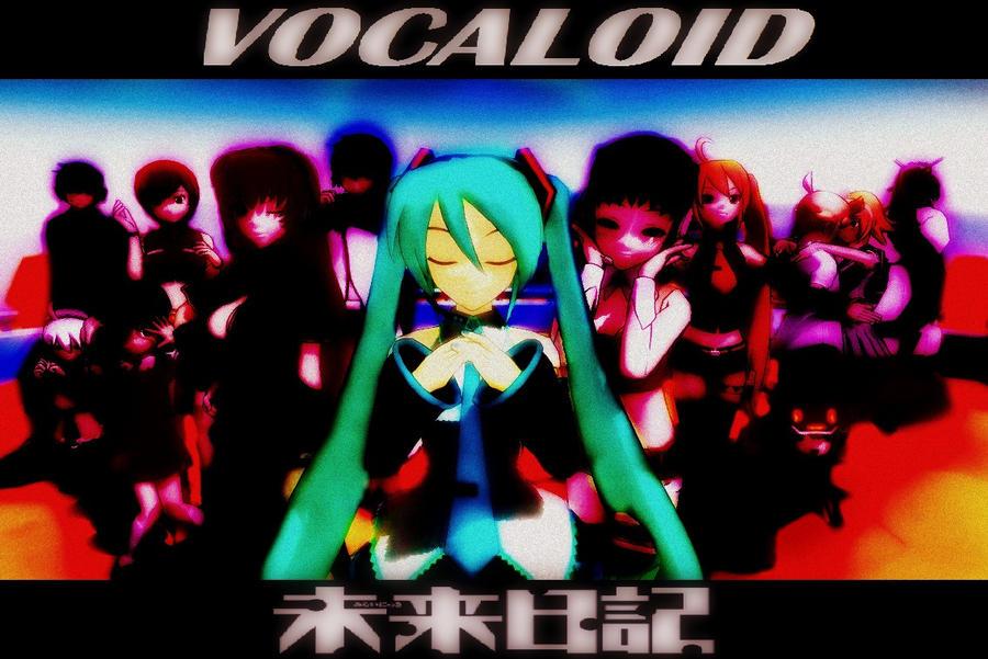MMD Mirai Nikki VOCALOID by xXJesterKillerXx
