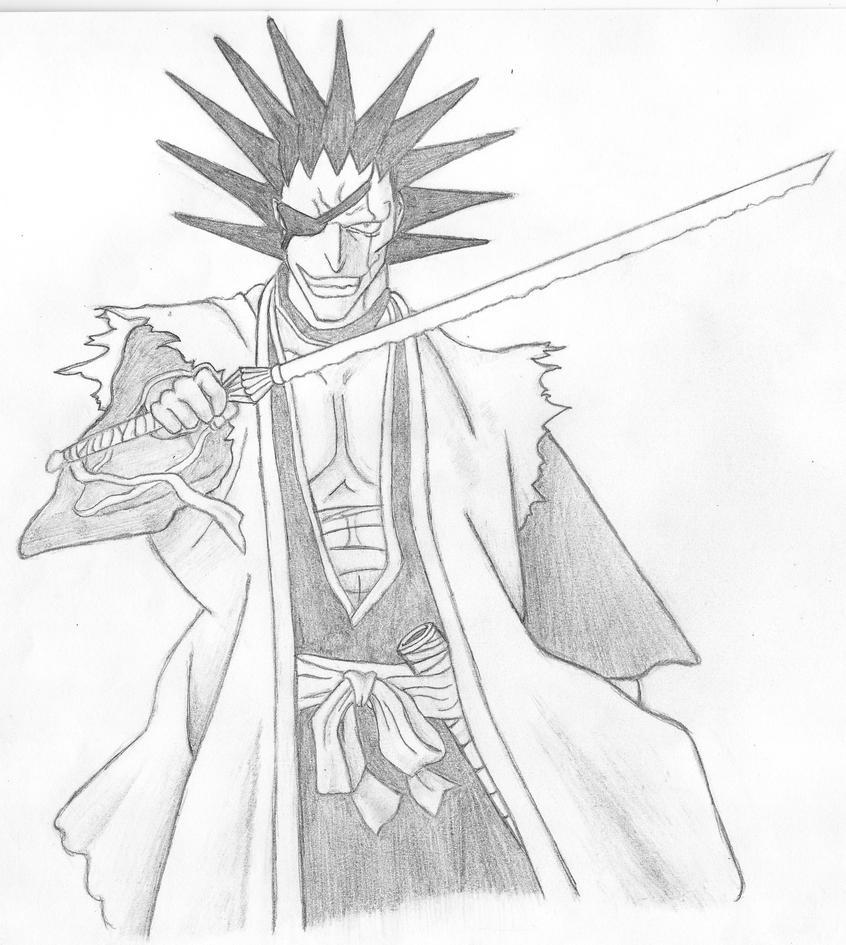Kenpachi Zaraki By XJereyx