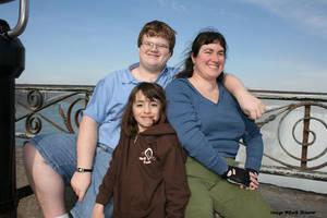 Barb, Peter, Cady at Niagara