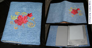 Sony E-Reader Embroidered Cover