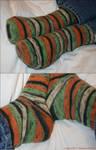 Hallowe'en Socks - pair the first