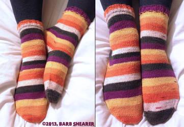 Spooky Socks