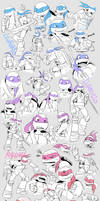 TMNT:Doodle by YU0330