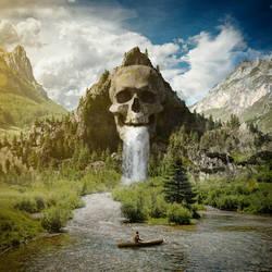 Skull Mountain by Apachennov