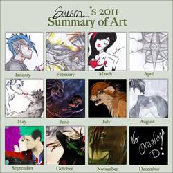 _ 2011 Art Summary by Ana54