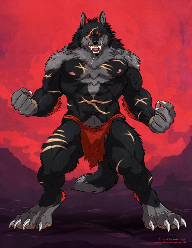 The savage Alpha by WolfwingX
