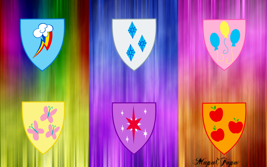 MLP Shield Wallpaper by MapaFapa