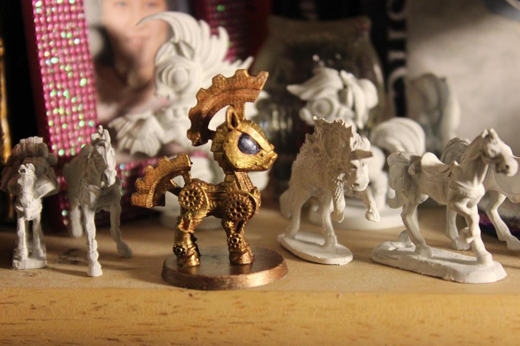 Clockwork Pony by Dellessanna