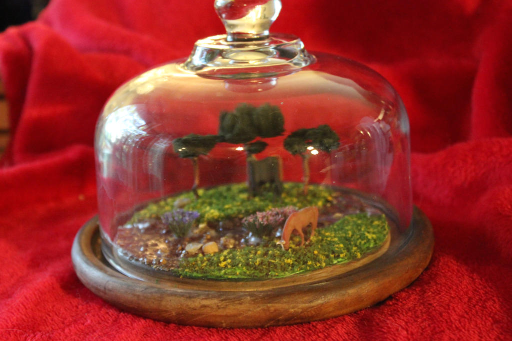 Pasture in a Jar 1 by Dellessanna