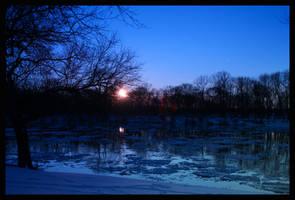 Winter's Blues by Dellessanna
