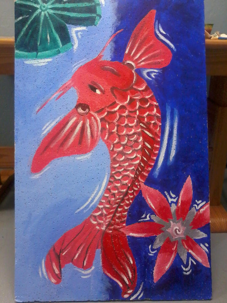 Koi fish painting for sale by sauna2345 on deviantart for Koi prints for sale
