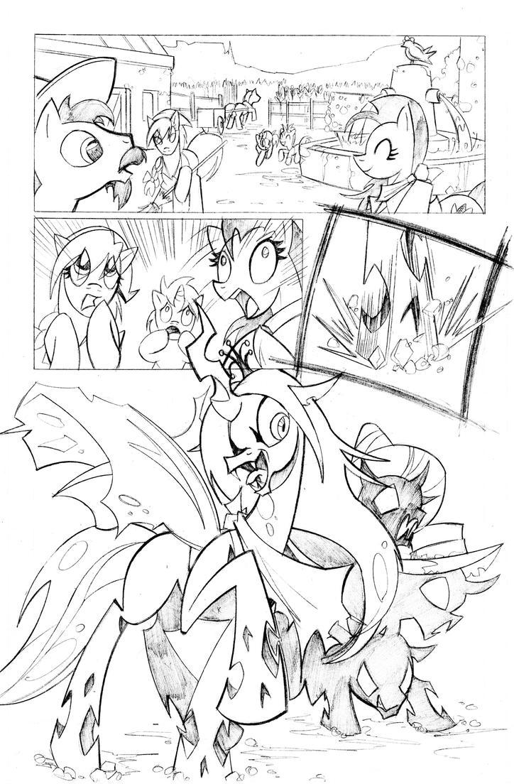 MLP comic sample pg1 by krynos79