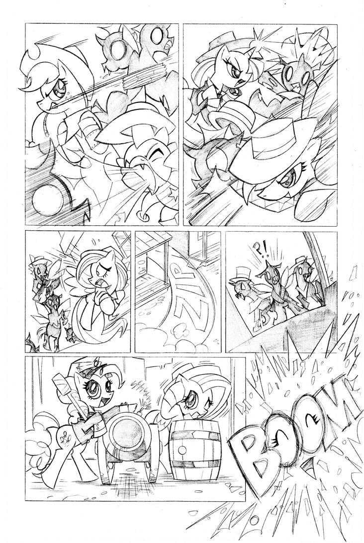 MLP comic sample pg3 by krynos79