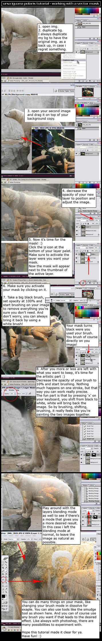 ursa iguana polaris tutorial by crafth