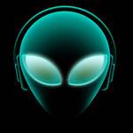 alien music logo