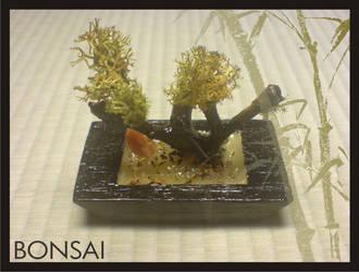 Miniature Japanese bonsai by Yuki-Myst