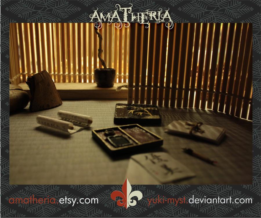 Japanese Mini Calligraphy Set2 By Yuki Myst On Deviantart