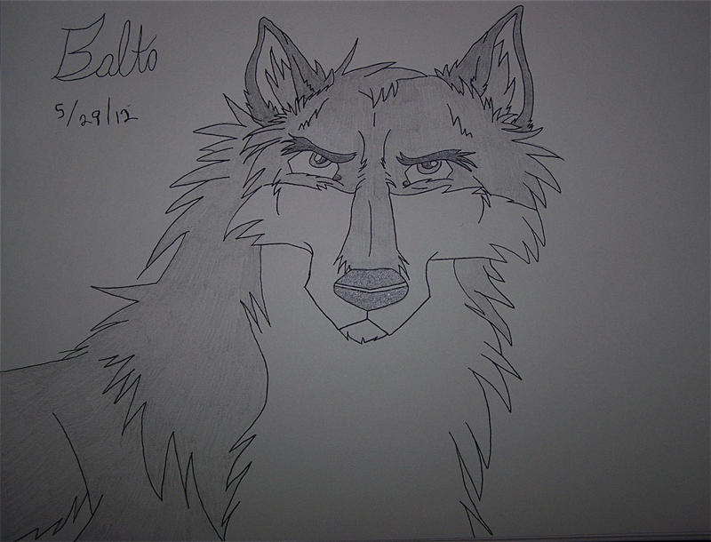 Balto In A Realistic Style by BlackBlood100