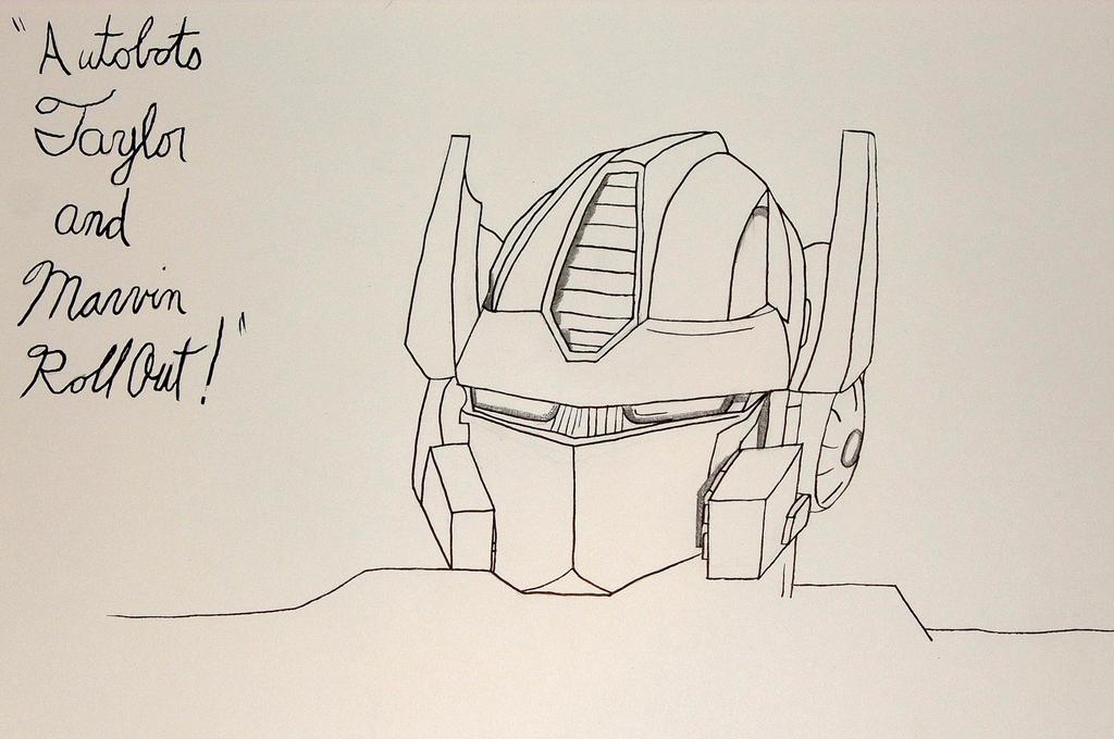 Optimus Prime by BlackBlood100