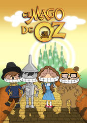 The wizard of Oz by isasi
