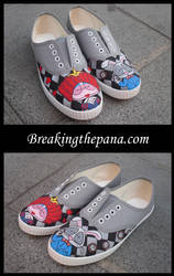 Custom-made Wonderland Shoes by isasi